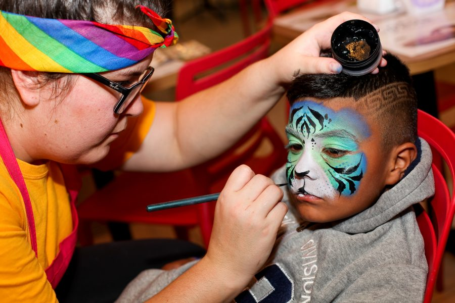 Fotos Incríveis com Pintura Facial Infantil