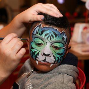 Fotos Incriveis com Pintura facial infantil